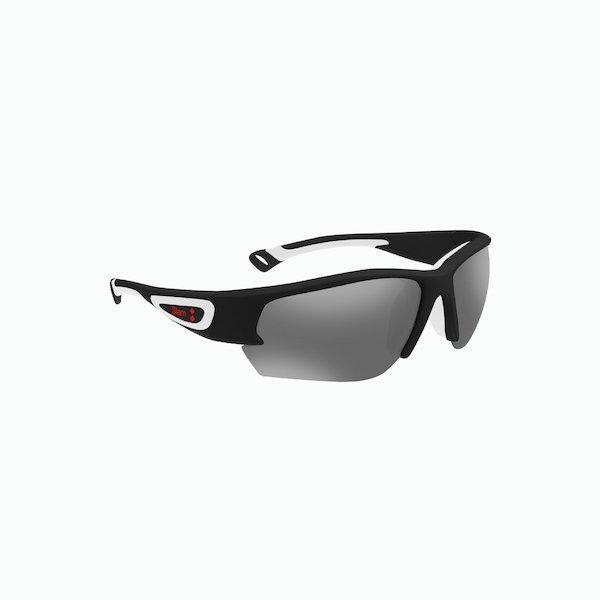 Racer sunglasses for men with mirrored lenses