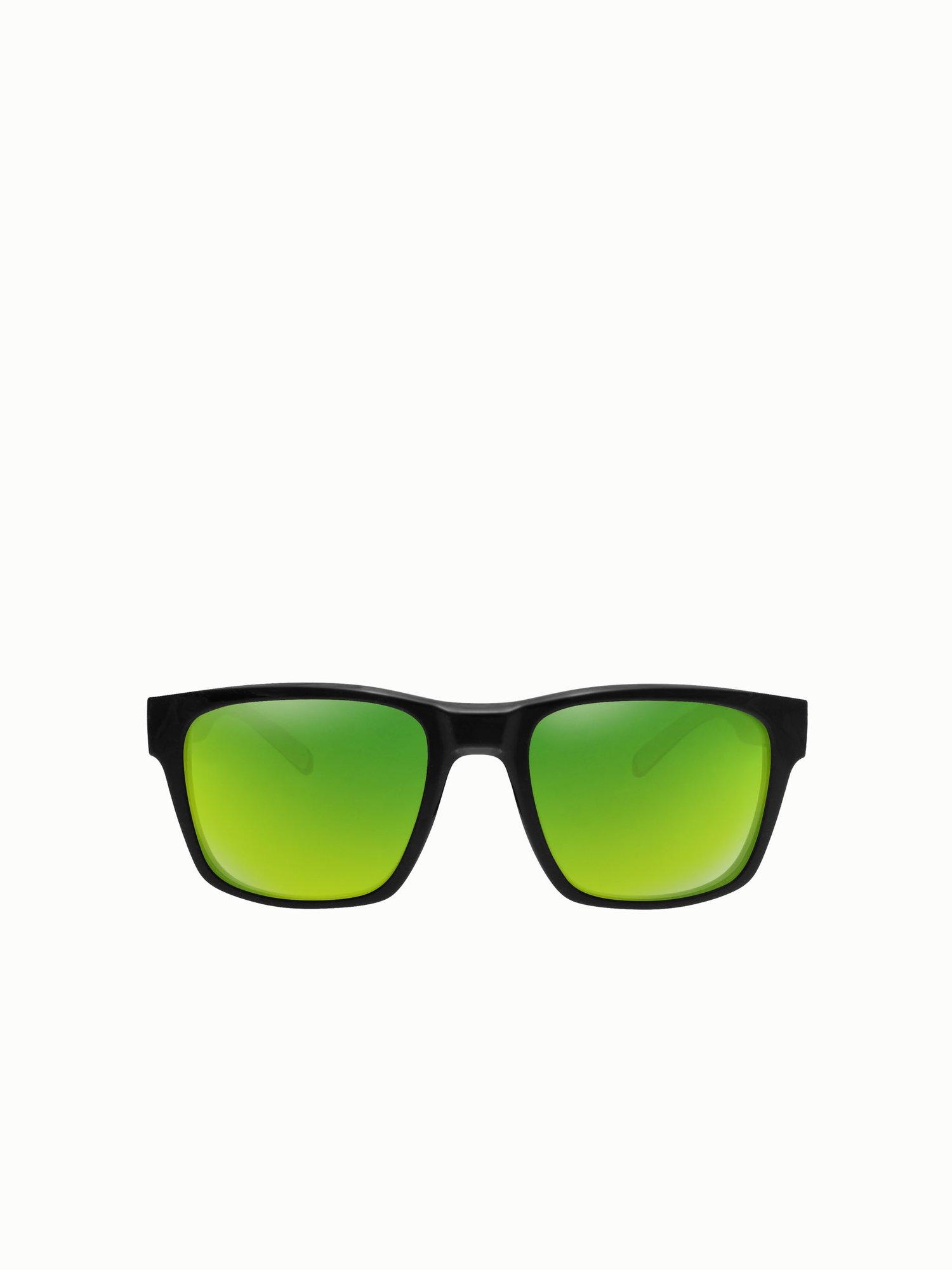 Occhiali Da Sole Sailing - Nero / Lime / Verde