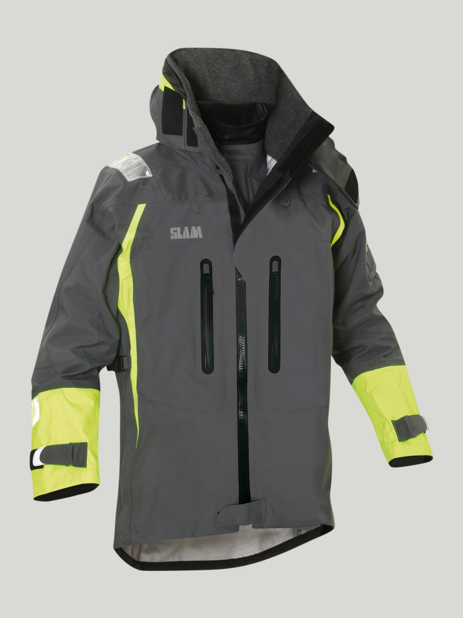 Force 9 Ocean Wave waterproof jacket - Steel