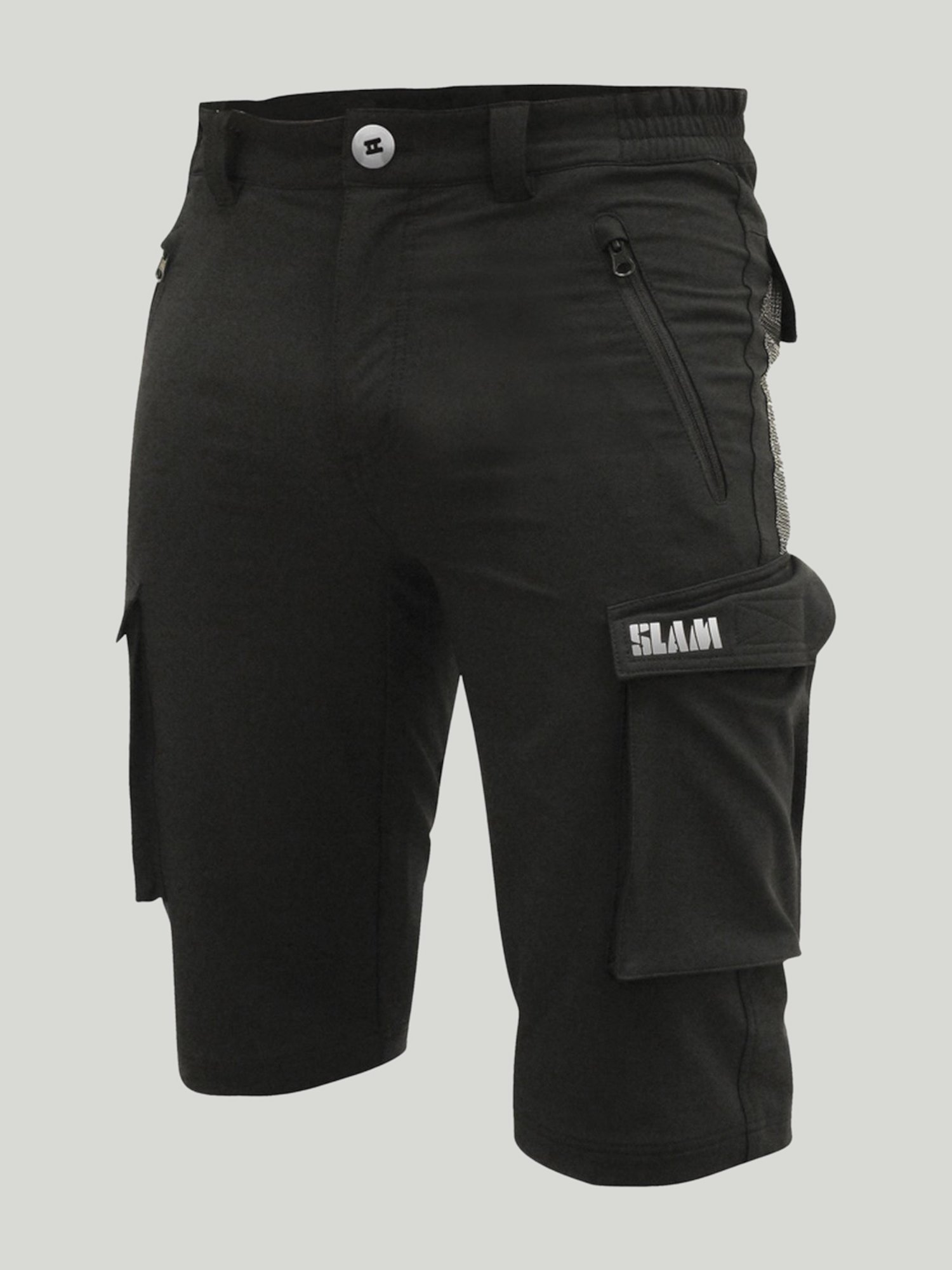 Tech bermudas - Black