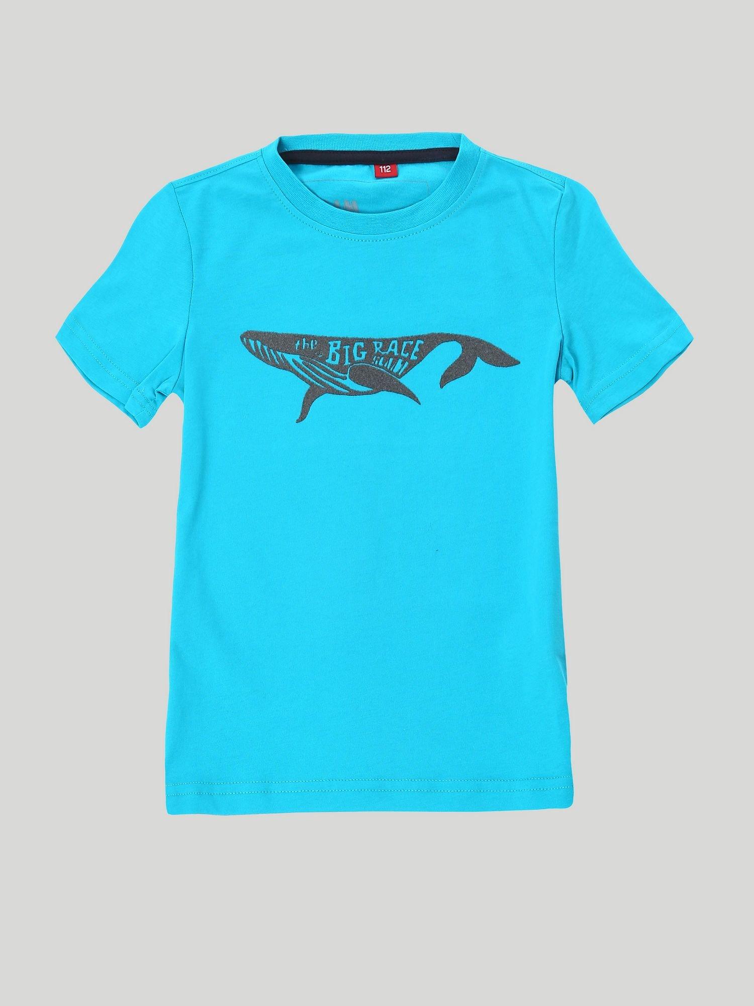 T-Shirt Jr Altamarea - Blu Caraibi