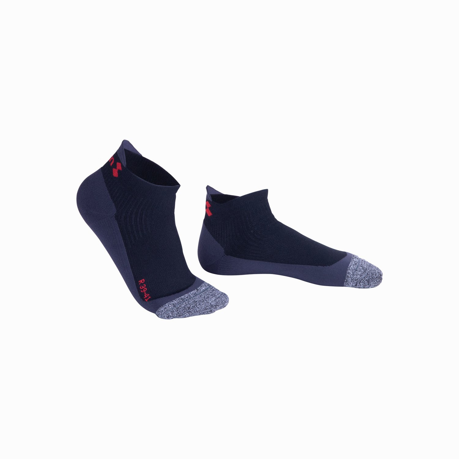 WIN-D BREEZE LOW CUT SOCKS - Black