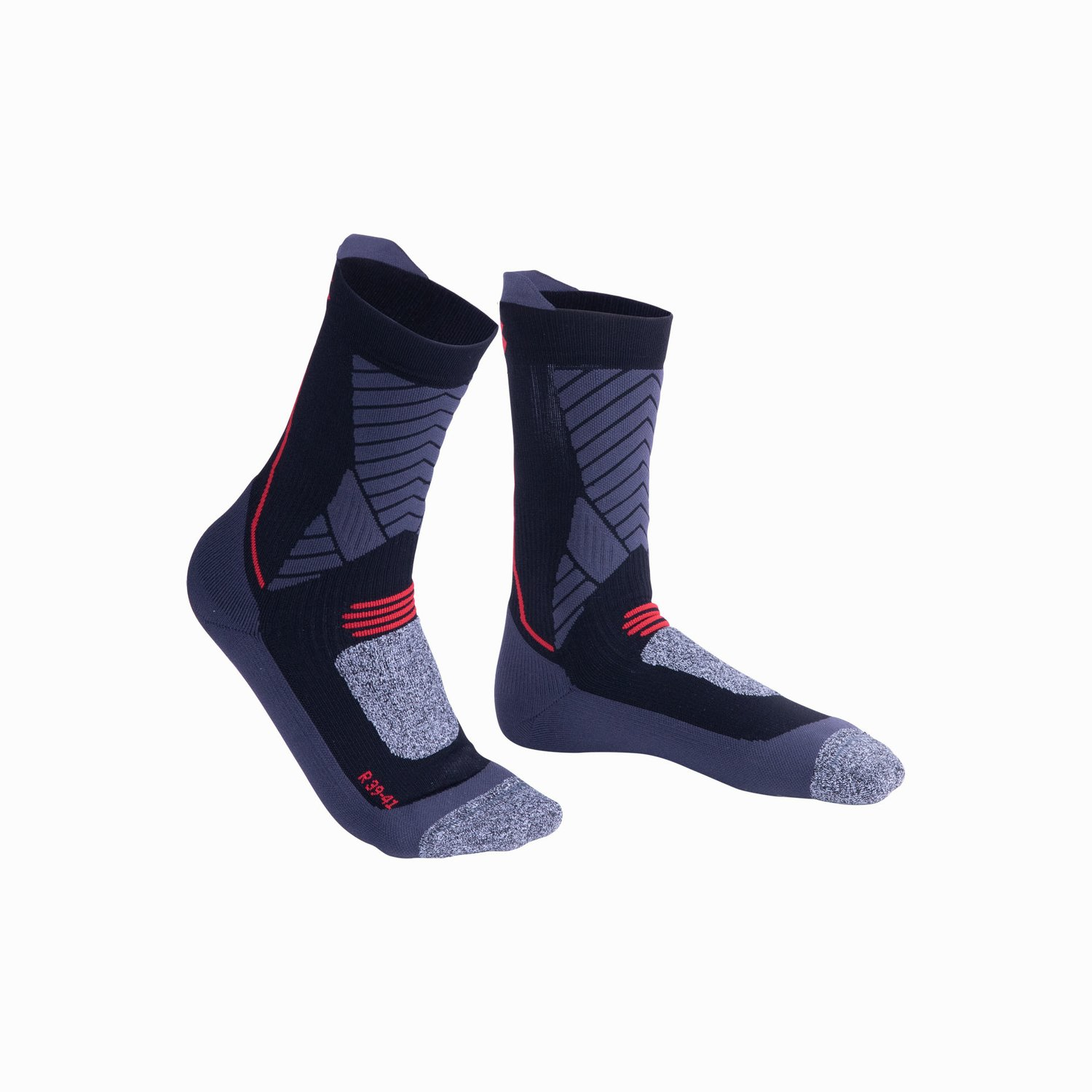 Kurzsocken Win-D Heat  - Black