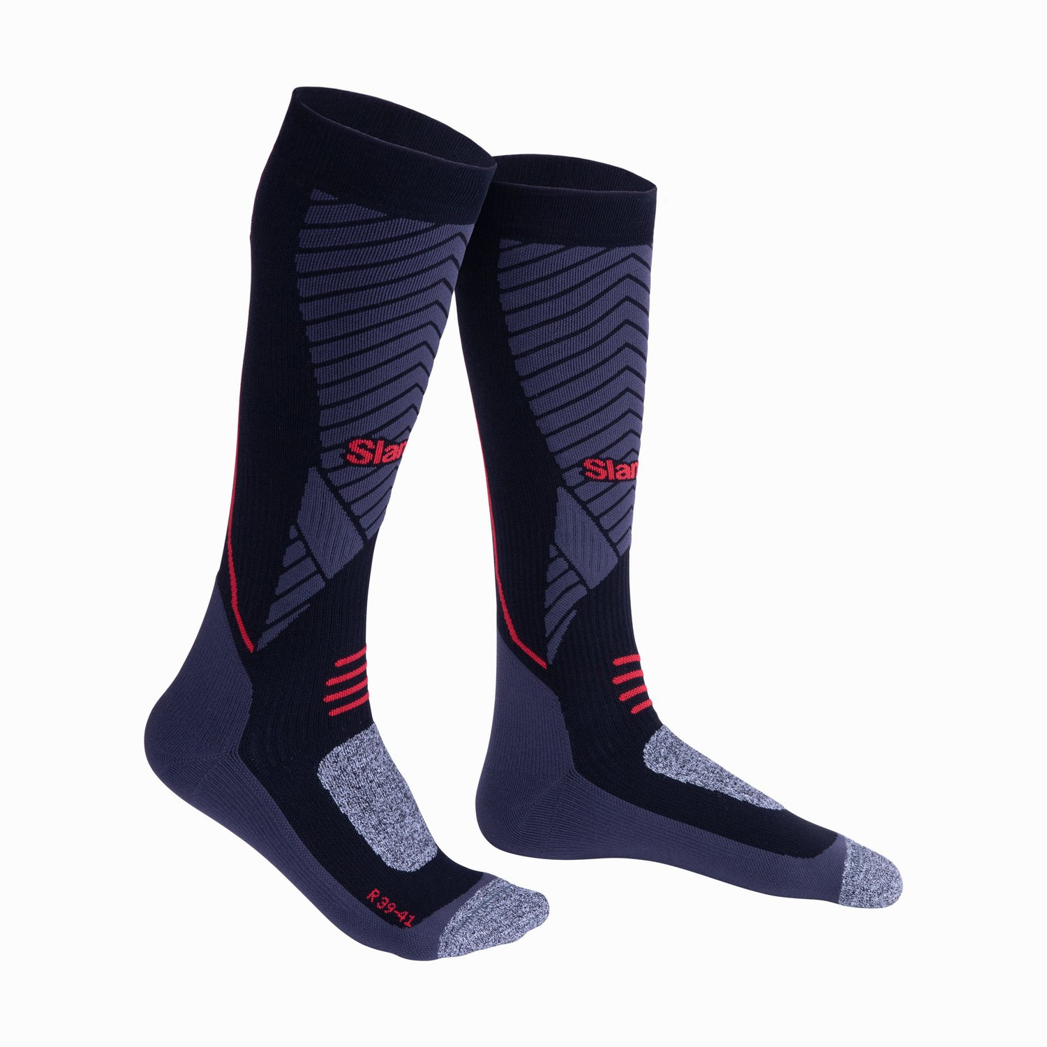 Langsocken Win-D Heat - Black