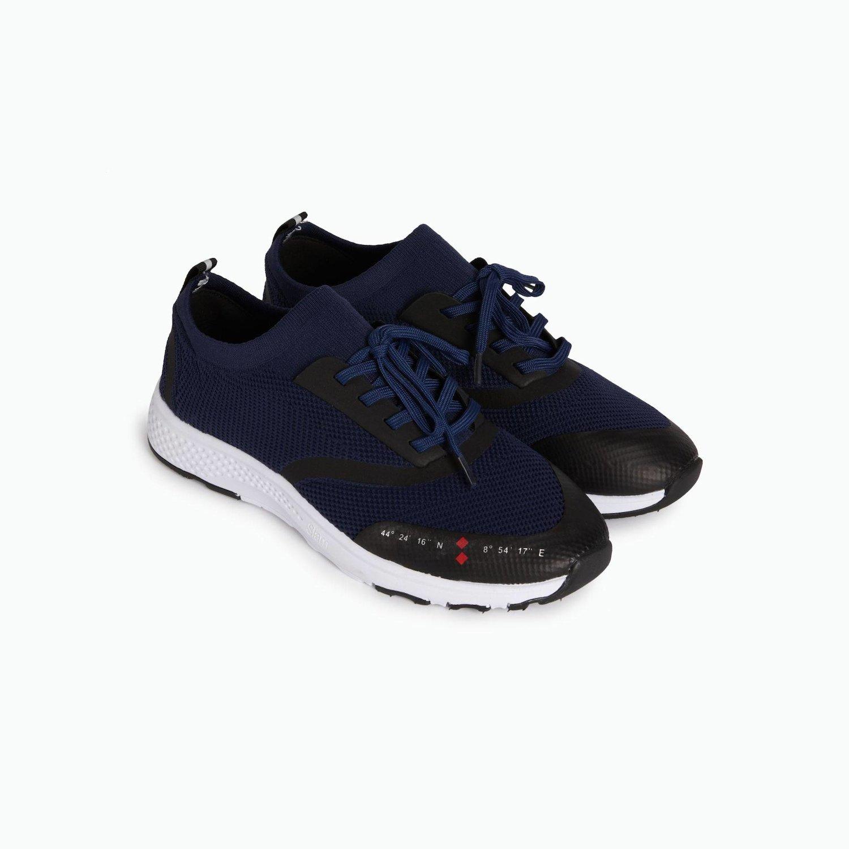 B211 Slip On Shoe - Navy
