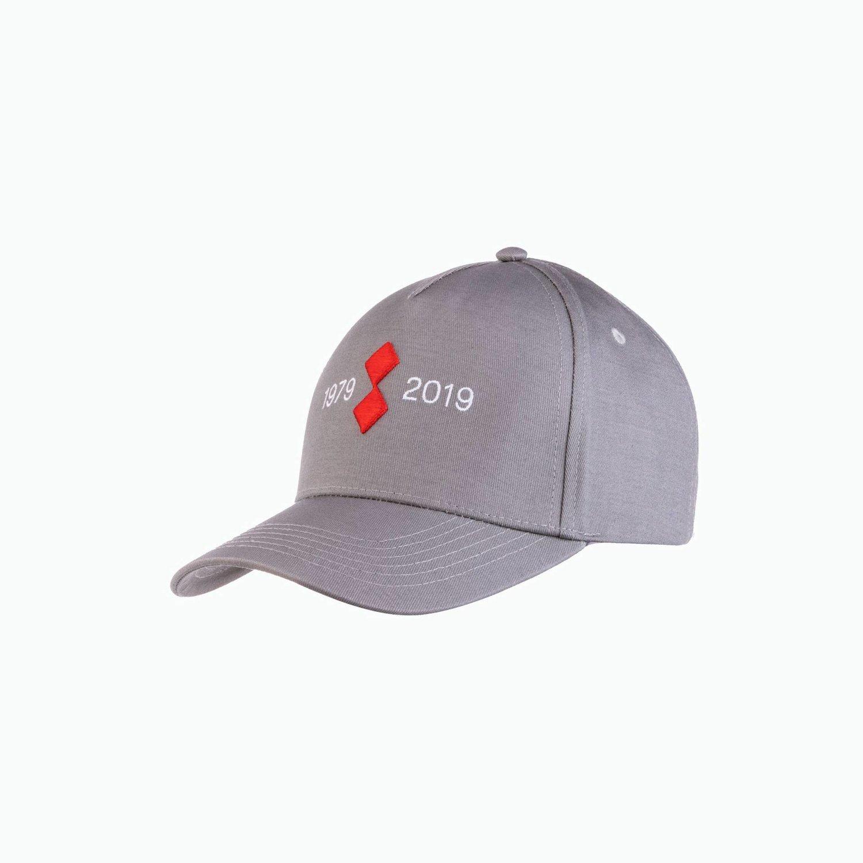 40th 2 Cap - Gris