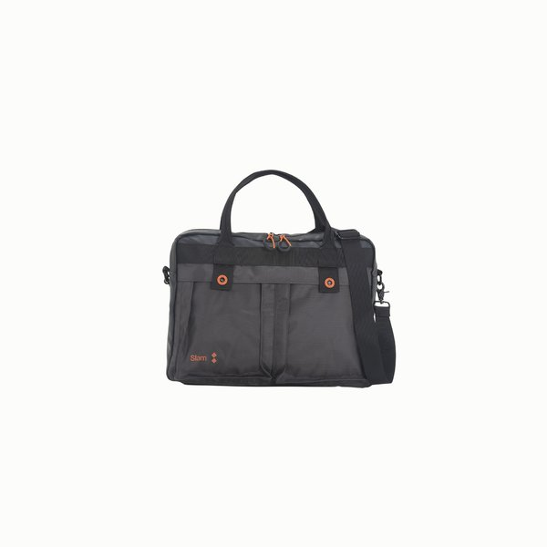 Briefcase in water repellent Nylon