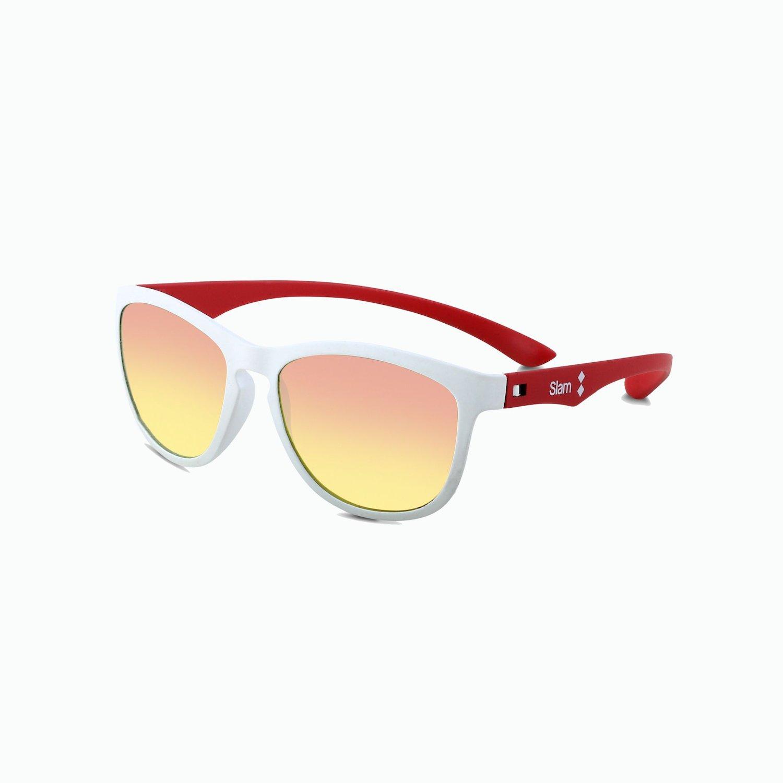 Sunglasses White 10 KNT - Orange