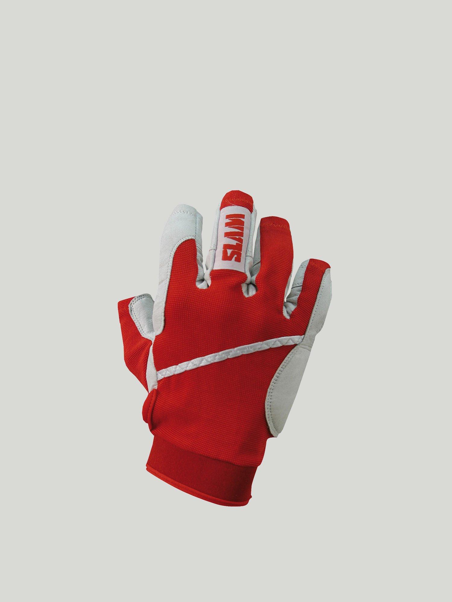 3/4 finger gloves - Red