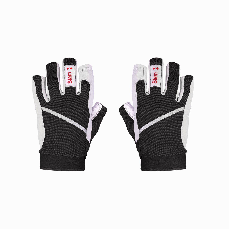 3/4 length finger gloves - Black