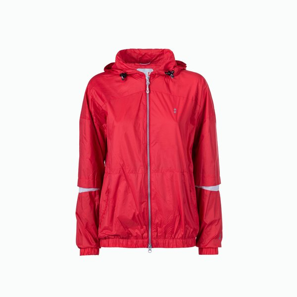 Woman Rope jacket in water-repellent ripstop Nylon