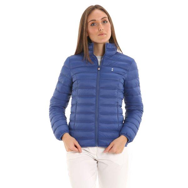 Ultraleichte Damen-Daunenjacke E203 mit zwei seitlichen Taschen