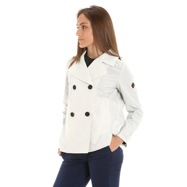 E209 water-repellent and windproof women's trench jacket