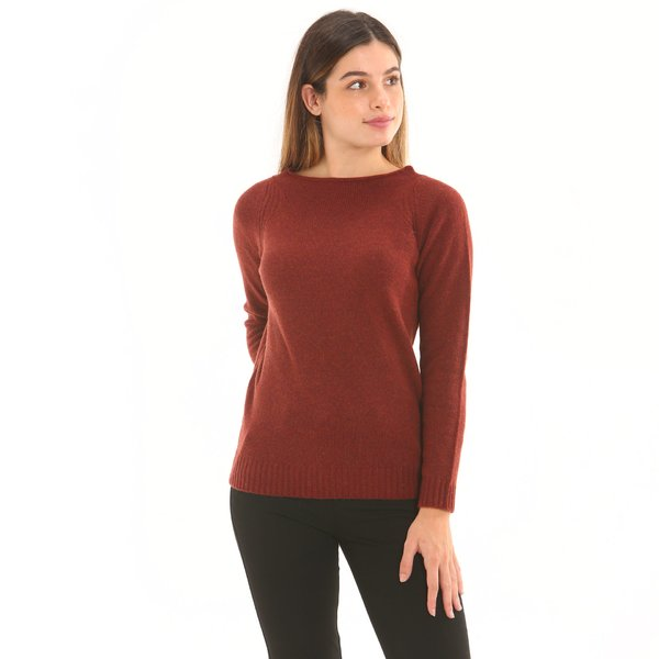 Women jumper F259 in lambswool