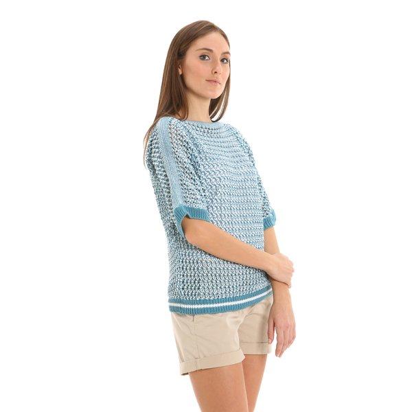 Maglione donna G218 in eco-cotone organico