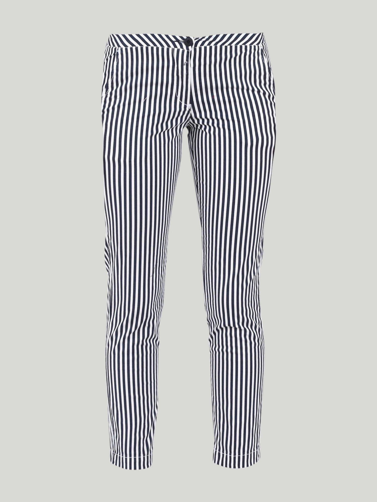 Pineapple pants - White / Navy