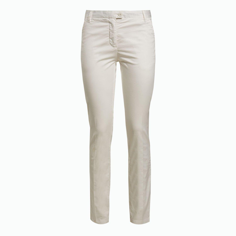 A2 Trousers - Leinenweiss