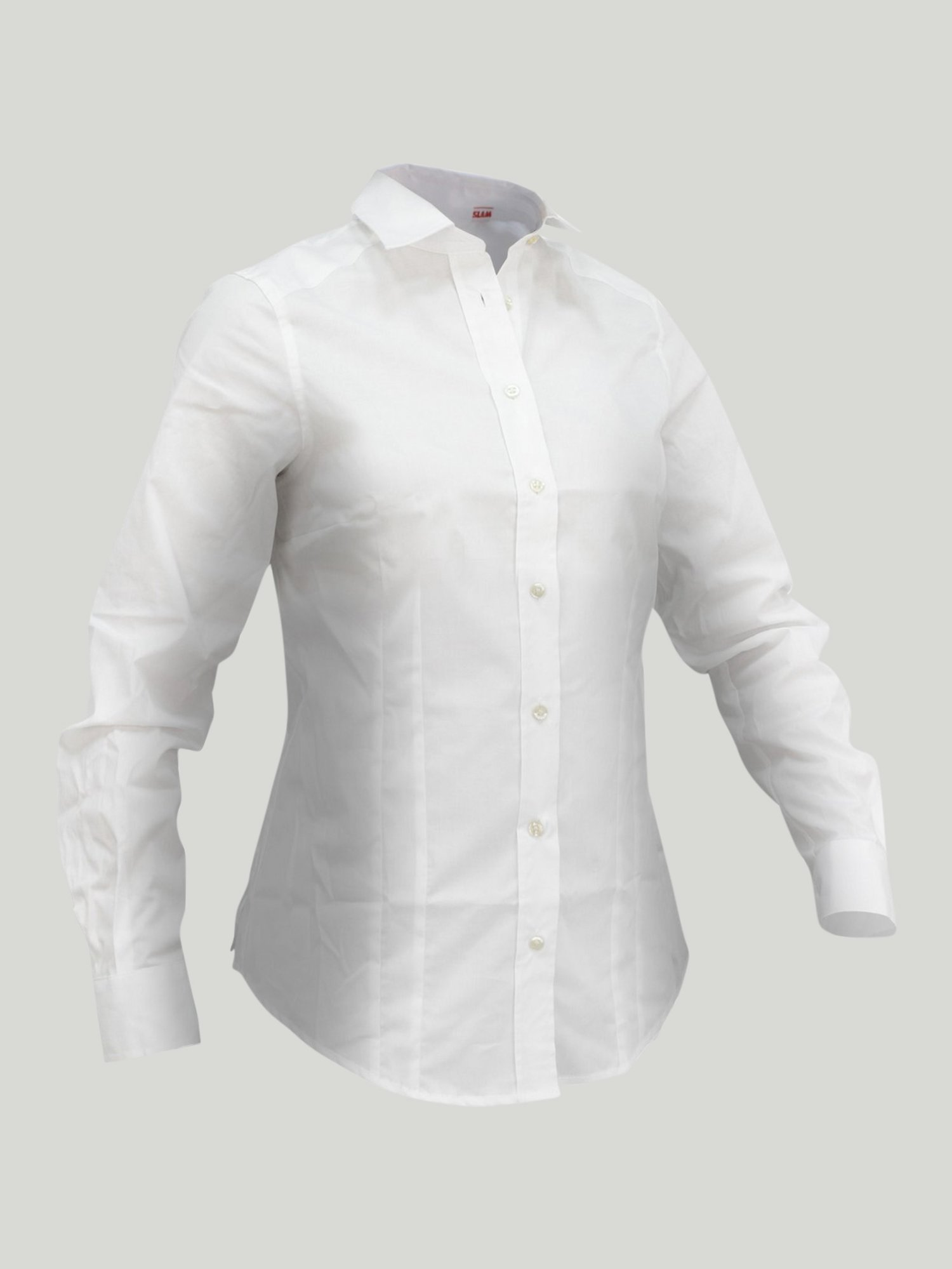Camisa Cheval Ls - Blanco