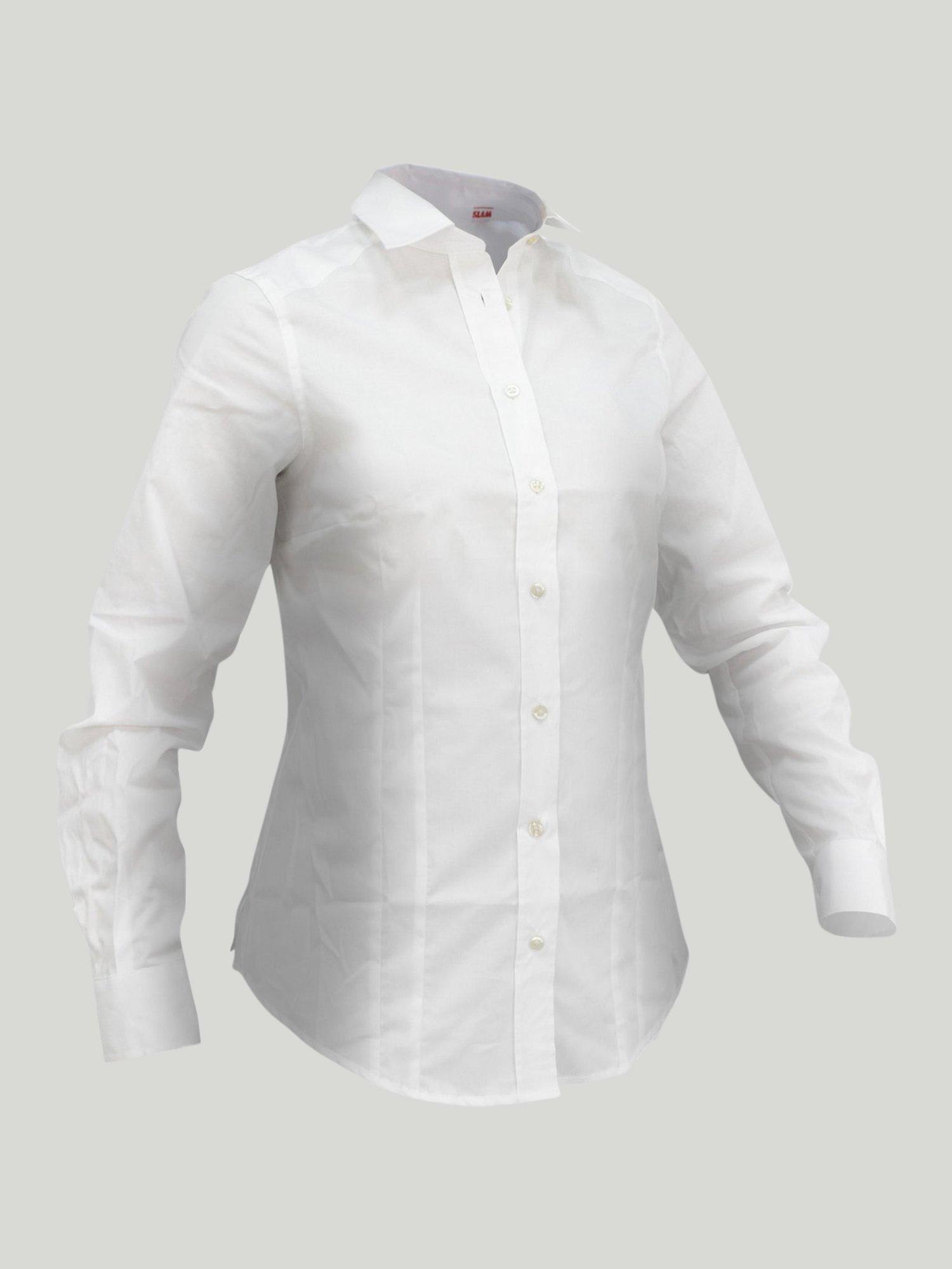 Cheval Ls shirt - White