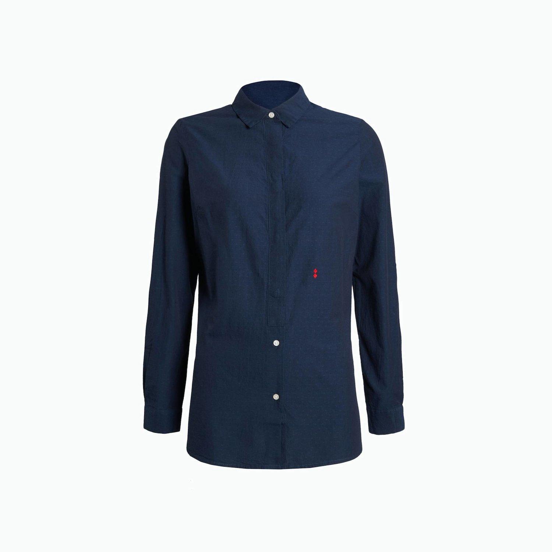 Bluse B199 - Marinenblau