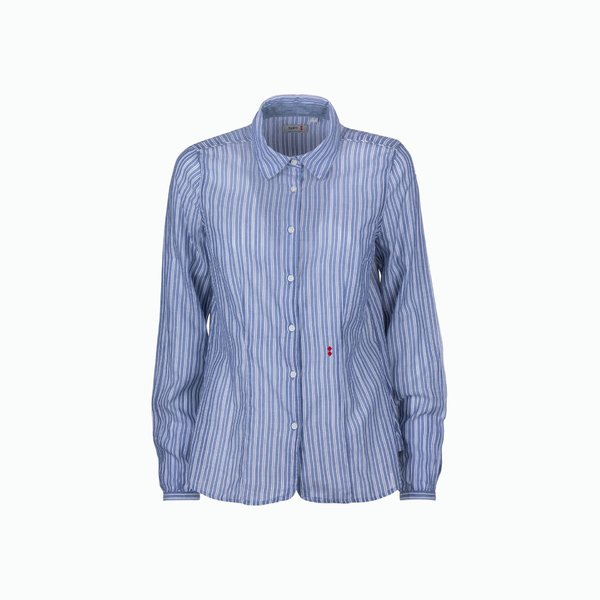 Striped Cotton Woman Shirt C02