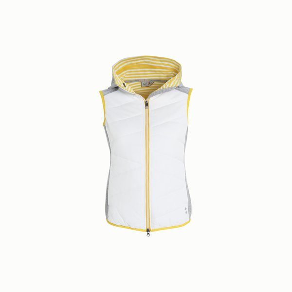 Woman vest A18 with removable hood