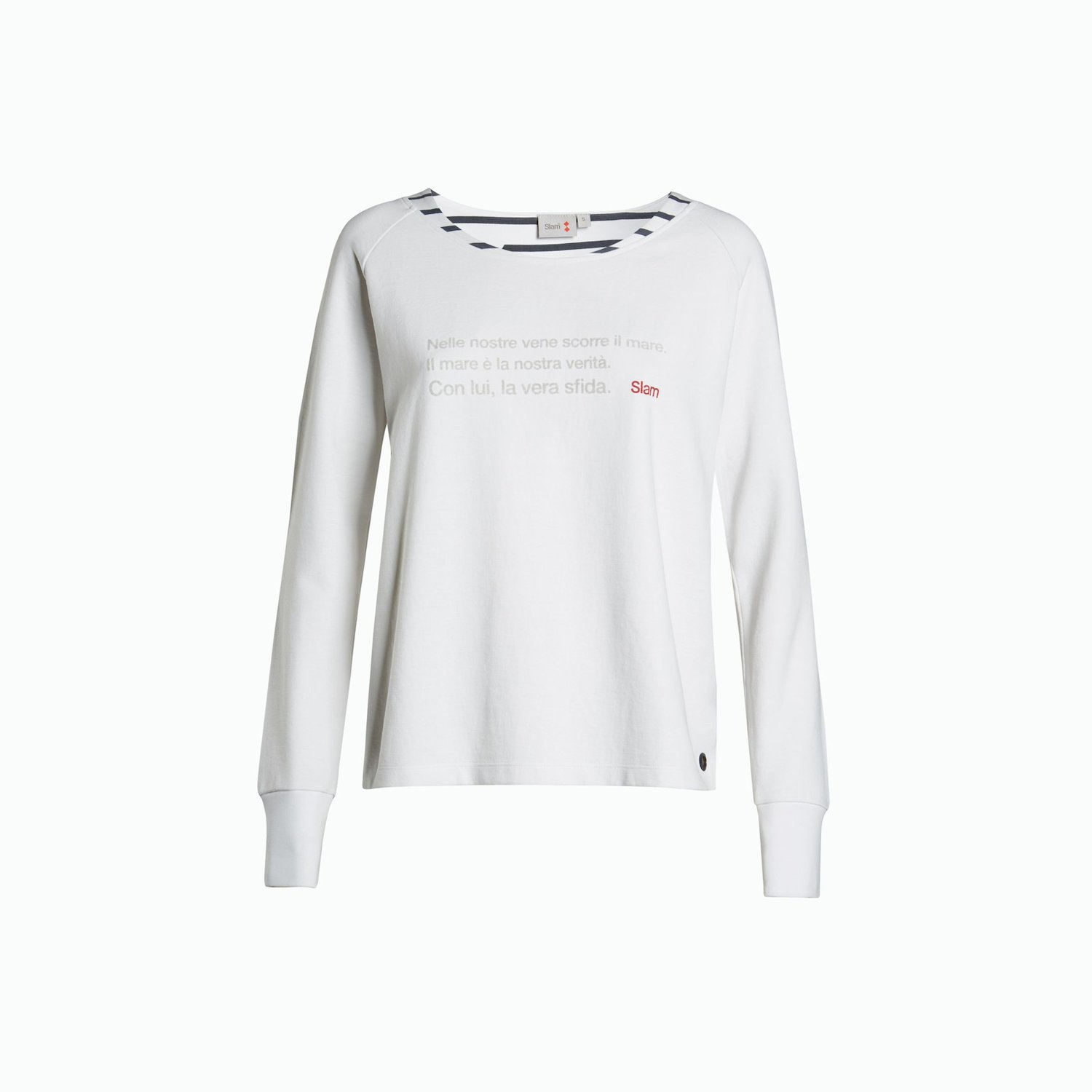 Sweat-shirt A53 - Blanc
