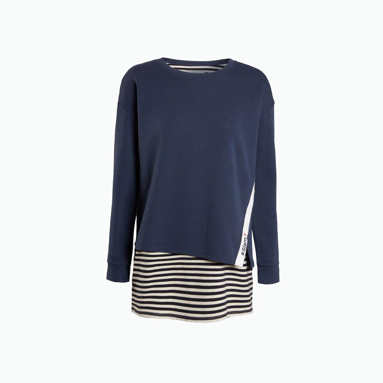 Pullover B24 - Meerblaues
