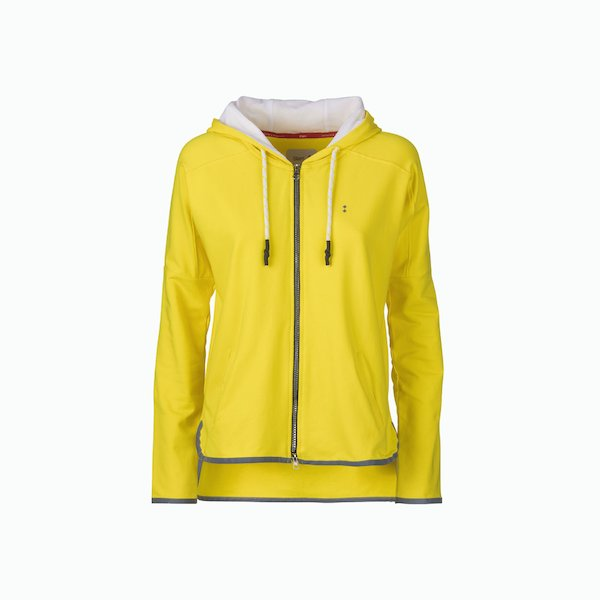 Women's sweatshirt C101 sport zip with hood