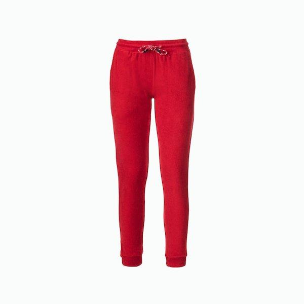Pantalón mujer C137 dejido de felpa lisos