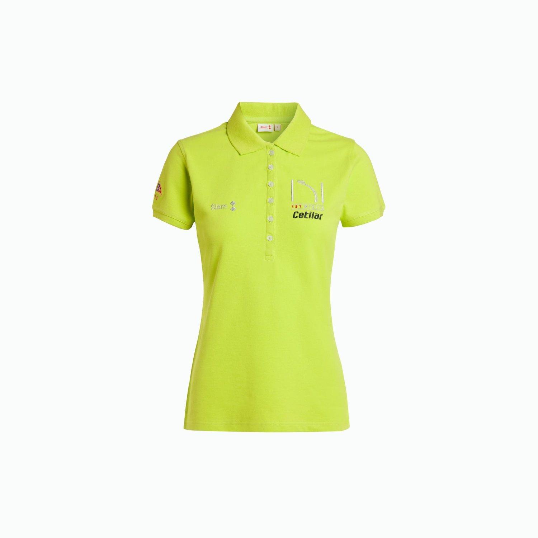 Women's Polo 151 Miglia 2018 - Yellow Neon