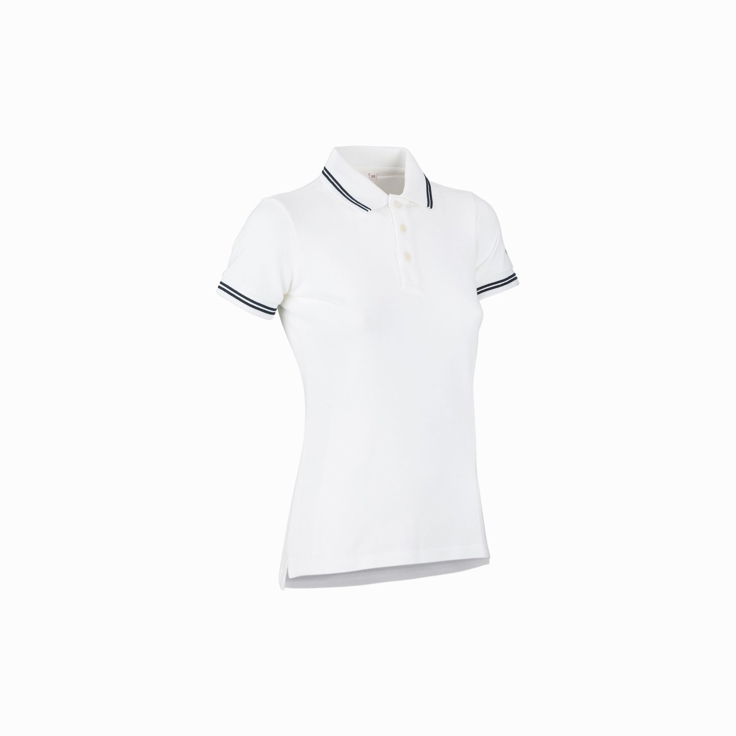 Polo regata women ss - Blanco