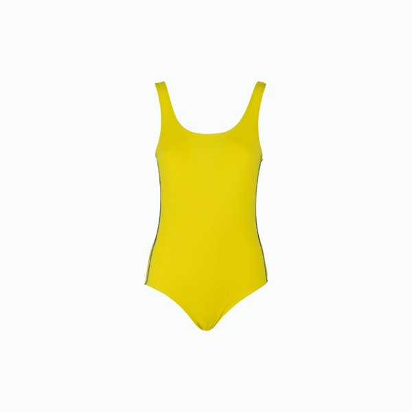 Swimsuit Woman C150 one-piece solid color