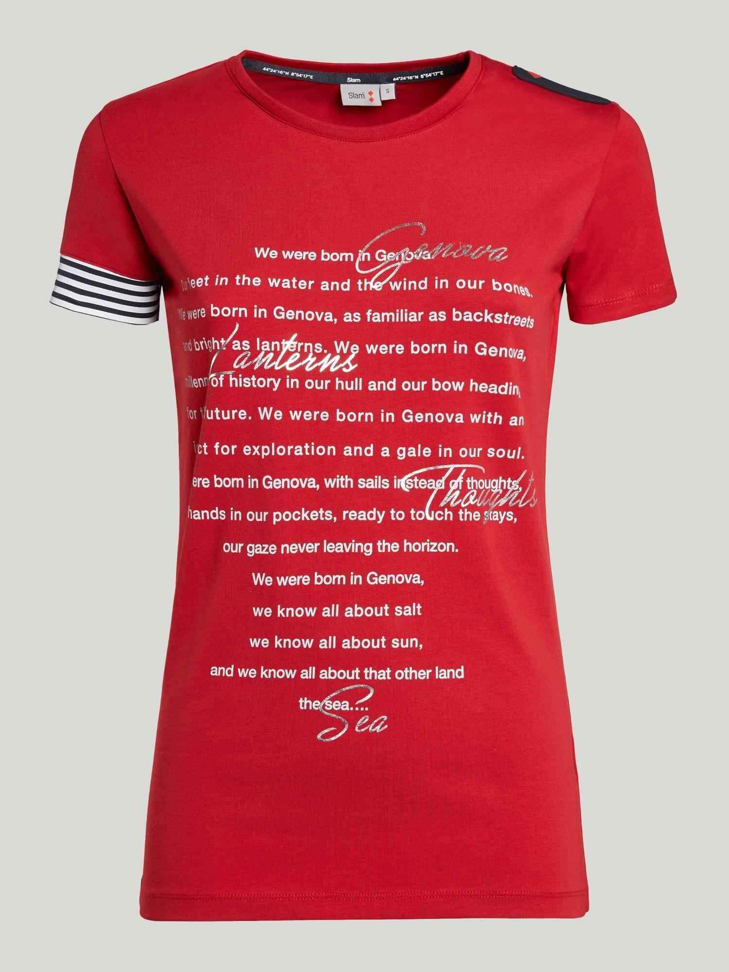 T-Shirt Quey - Chili Rot