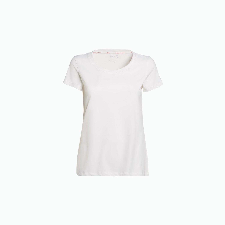 T-shirt tech alliot - Blanco