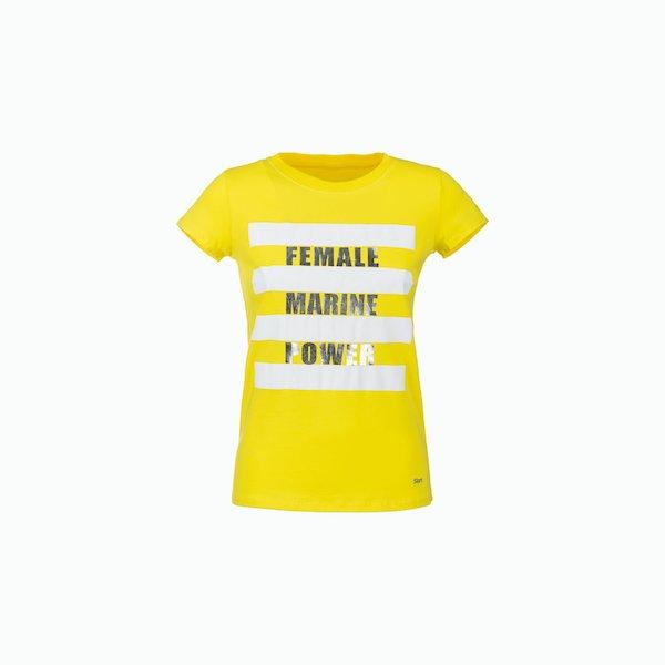 T-Shirt Donna C184 con manica tagliata a metà spalla