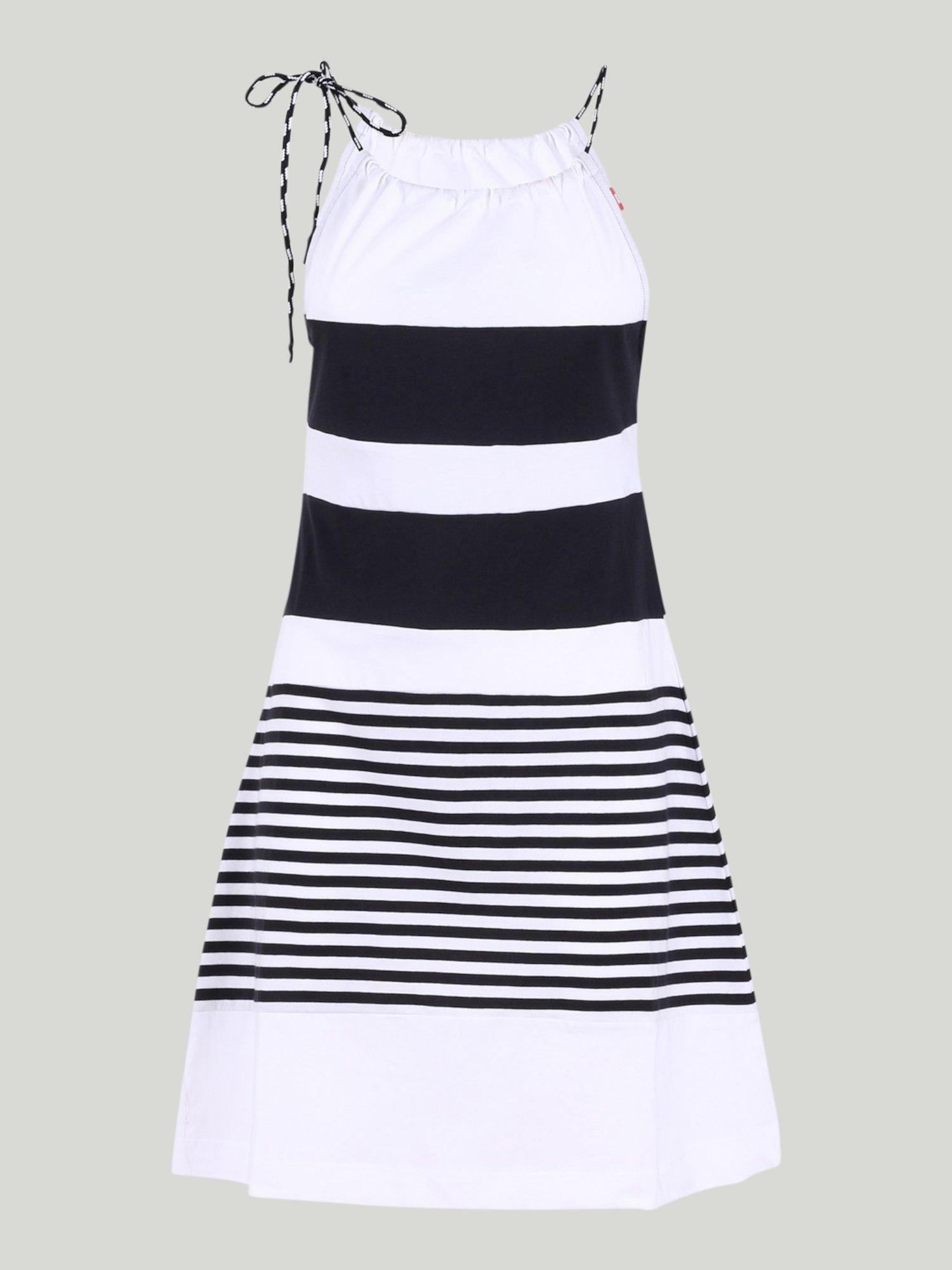 DRESS JODY - White / Navy