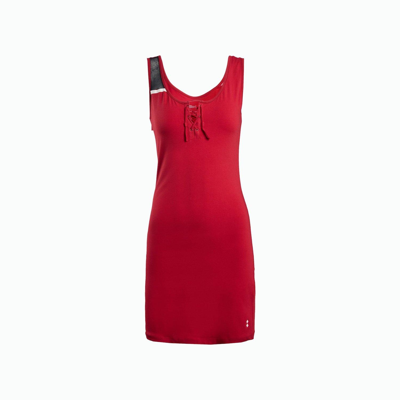 Dress A118 - Chili Rot