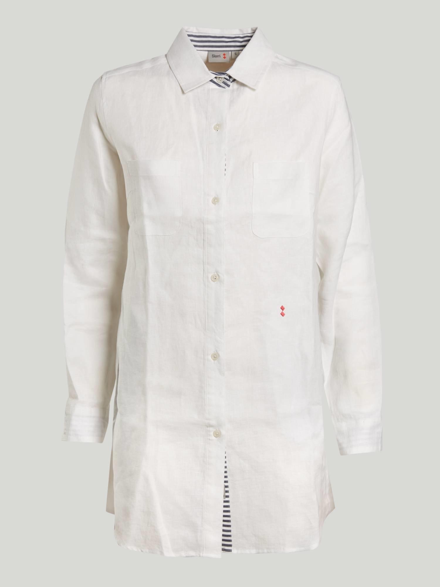 DRESS A168 - White