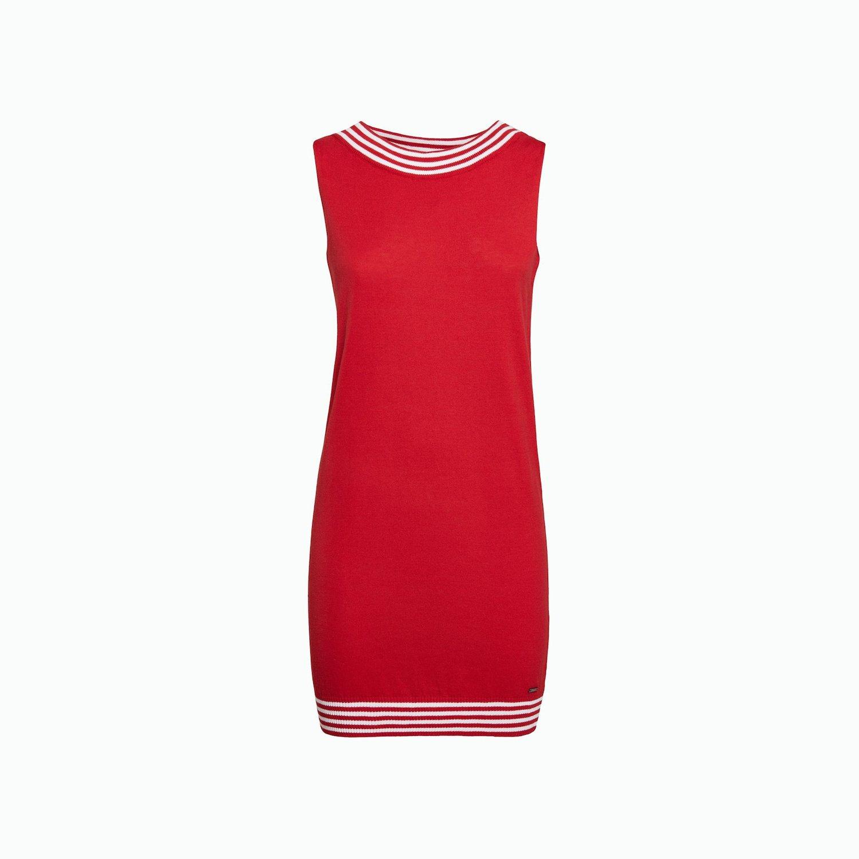 Dress A186 - Chili Red