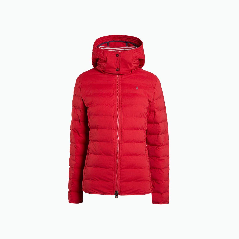 Short Jacket - Chili Red