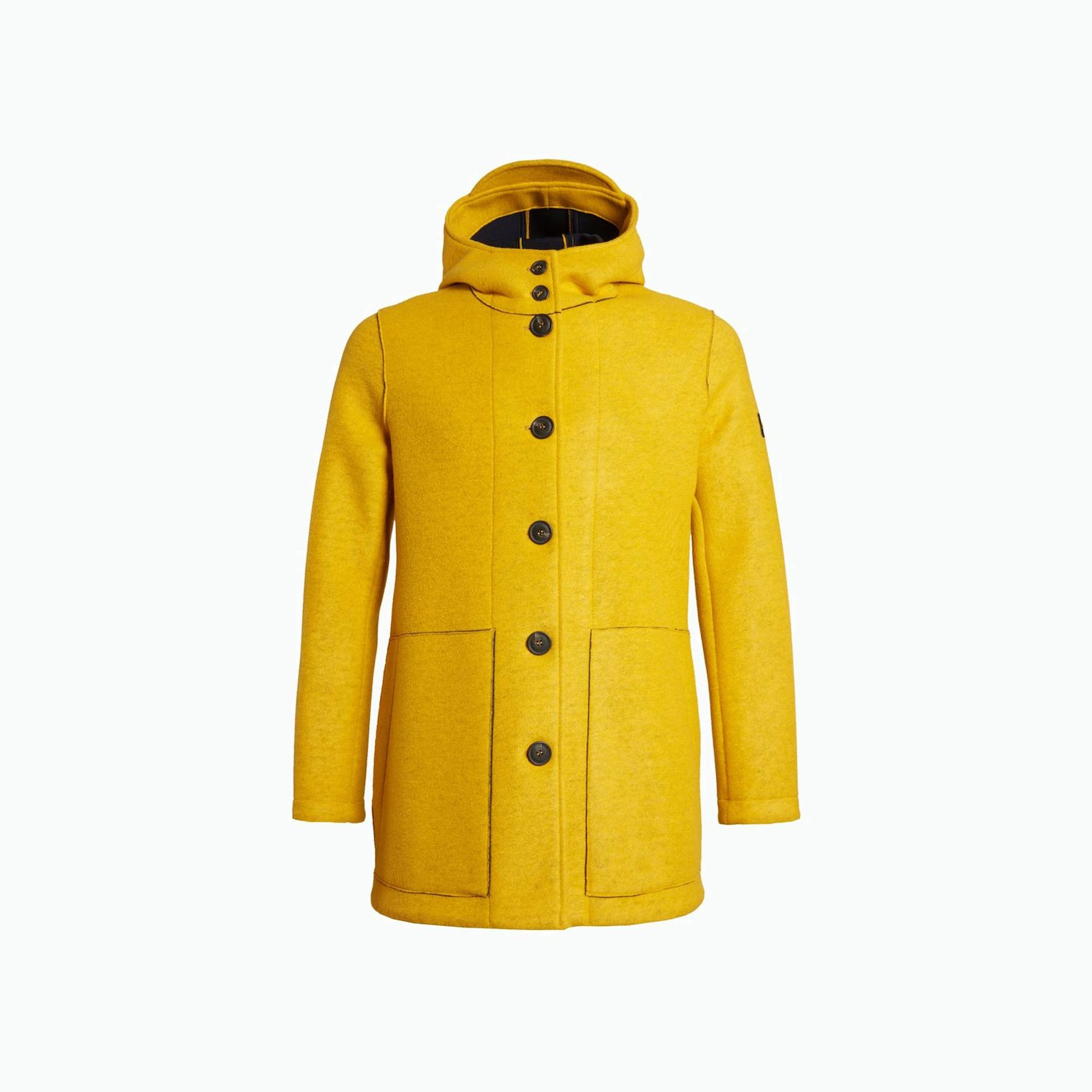 Wool Grover Coat - Goldenrod