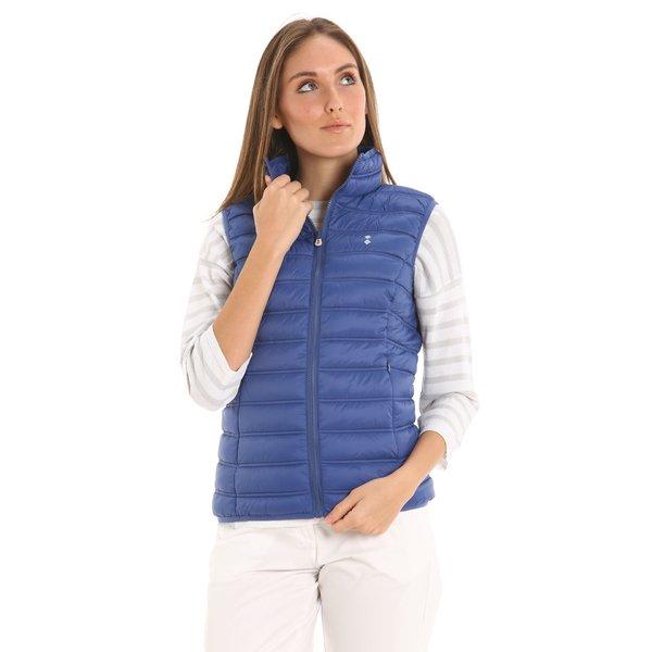 Ultraleichte Damenweste E205 mit zwei seitlichen Taschen