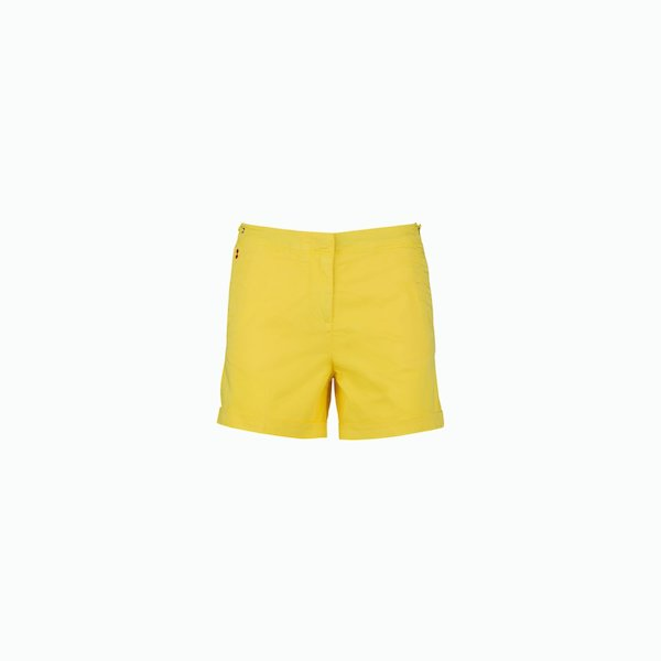 Shorts Donna Bermuda C72 in Cotone Satinato