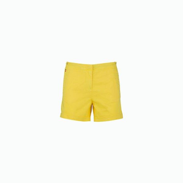 Pantalón cortos mujer C72 de algodón satinado