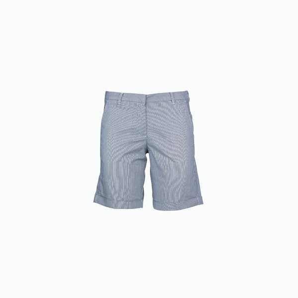 Women's bermuda C74 stretch with checkerboard texture