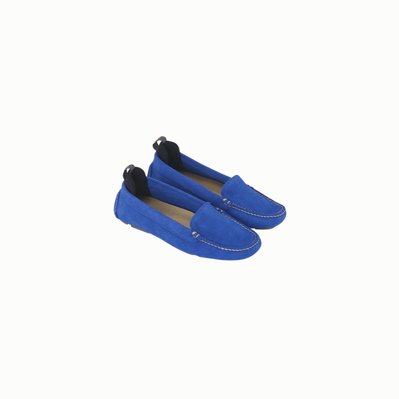 Mocassino C250 - Blu Brillante