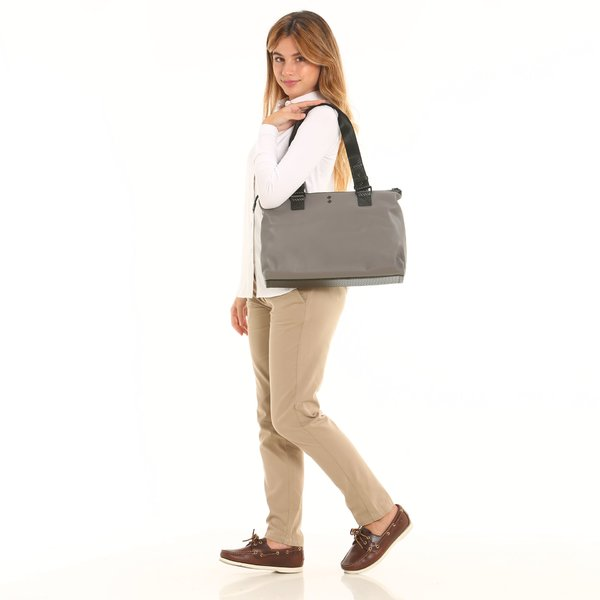 D922 women's water-repellent tote bag with inside pocket