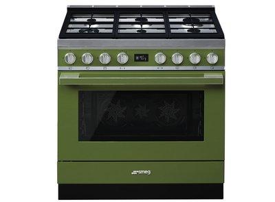 Cocina CPF9GMOG Termoventilado Vapor Clean 90x60 cm