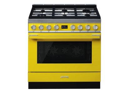 Cocina CPF9GMYW Termoventilado Vapor Clean 90x60 cm